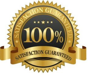 100% Satisfaction Guaranteed Seal