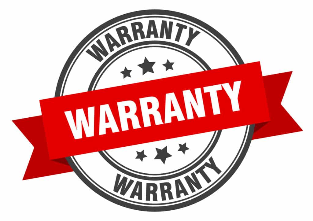 warranty for our services