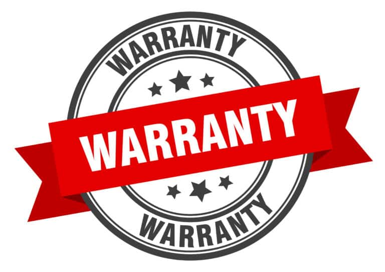 warranty for our painting services badge