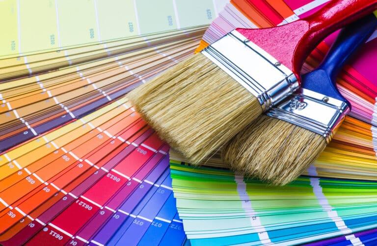 Calming paint colours